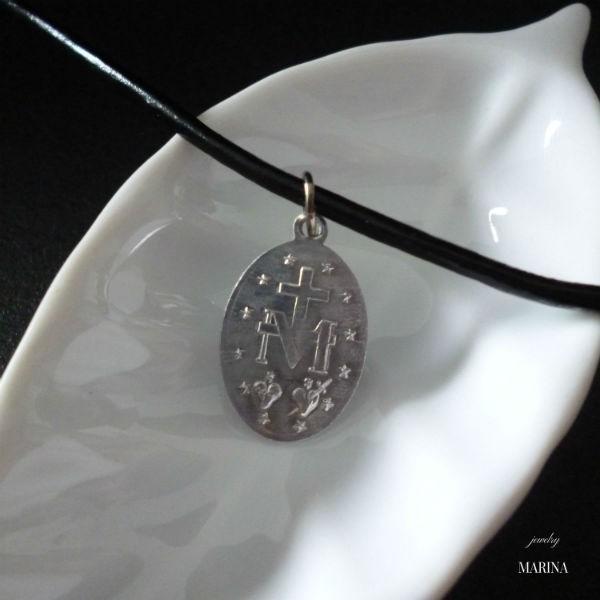 フランス奇跡のメダイのネックレス - silver resortiara 03