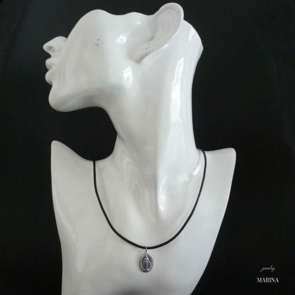 フランス奇跡のメダイのネックレス - silver resortiara 04