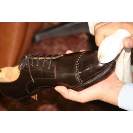 靴専用ワックス ポリッシュ 鏡面磨き ツヤ出し 手入れ 革靴  M.モゥブレィ ハイシャインポリッシュ|resources-shoecare|04