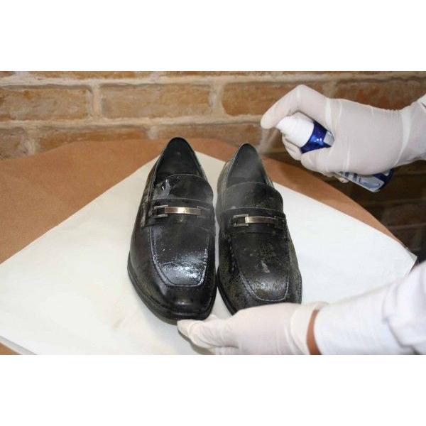 カビ除去 予防 M.モゥブレィ プレステージ モールドクリーナー 革靴 手入れ 防カビ resources-shoecare 03