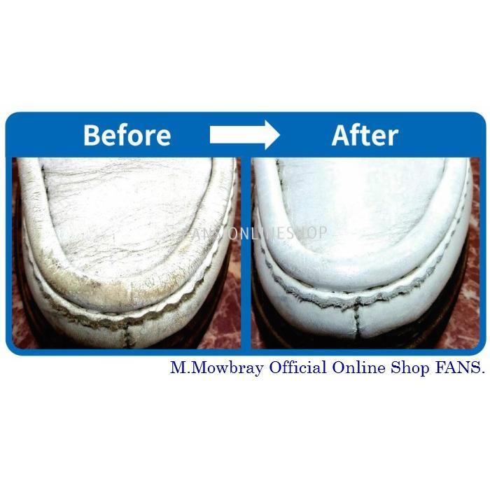スニーカー 靴 手入れ ホワイトレザー 白皮革 M.モゥブレィ エクストラホワイト |resources-shoecare|03