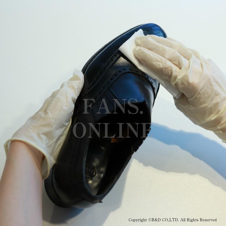 カビ対策に最適 M.モゥブレィ・プレステージ モールドクリーナーシート 靴 手入れ 予防&除去 防カビ除菌皮革製品「クリックポスト対象商品」|resources-shoecare|02