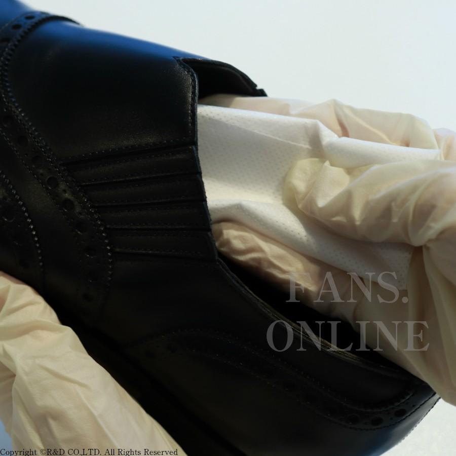 カビ対策に最適 M.モゥブレィ・プレステージ モールドクリーナーシート 靴 手入れ 予防&除去 防カビ除菌皮革製品「クリックポスト対象商品」|resources-shoecare|03