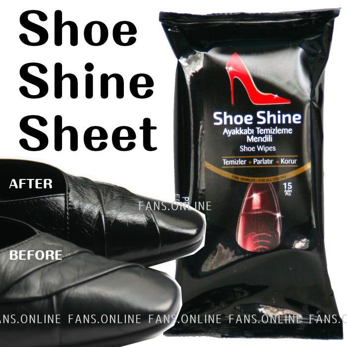 シューシャインシート 艶出し 靴磨き クリックポスト対象商品|resources-shoecare