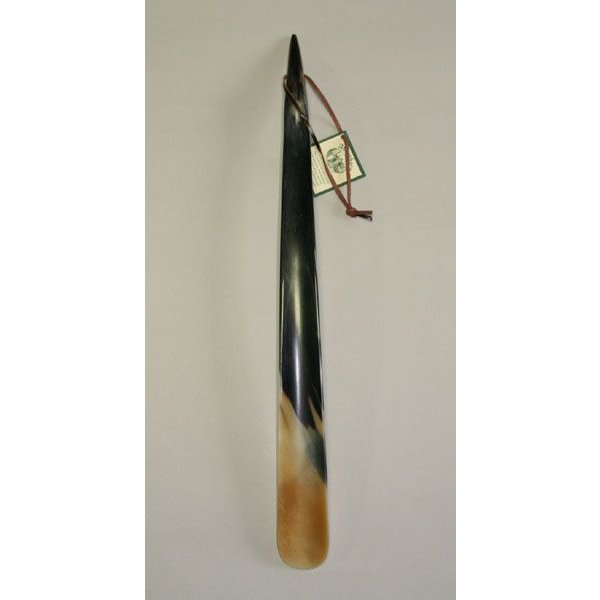 靴べら Abbey Horn(アビィ・ホーン) シューホーン H47 ギフト 箱付き 父の日 水牛 resources-shoecare 03