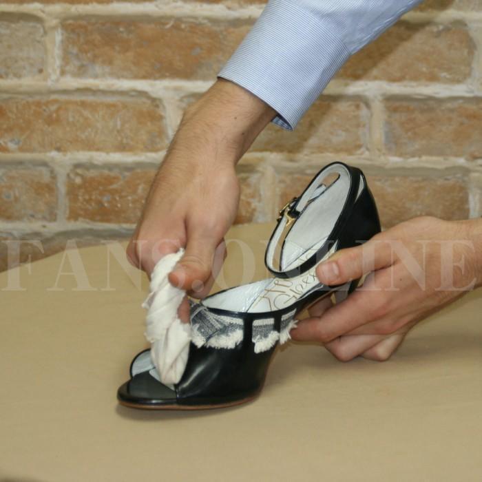 M.モゥブレィ ポリッシングコットン3枚入り ミニサイズ ふんわりコットン 靴磨き 艶出し 仕上げ用|resources-shoecare|03