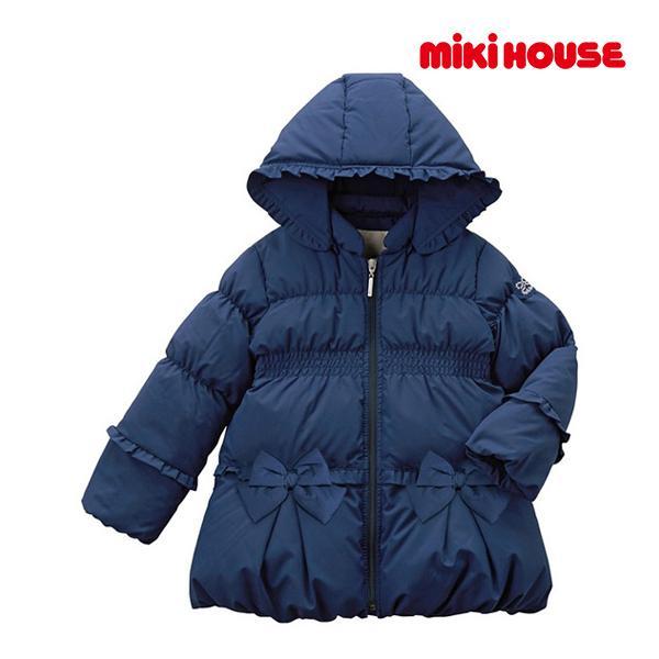 5%OFF //ミキハウス正規販売店/ミキハウス mikihouse ダウンコート(90cm·100cm)