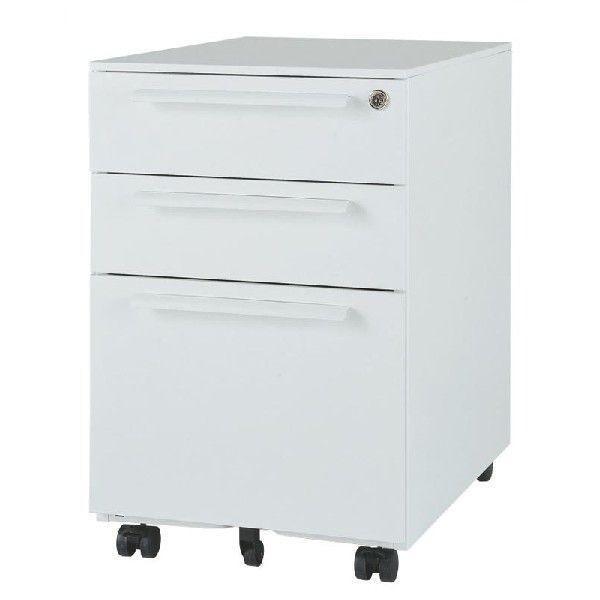 (新品)LCW-3 事務室用家具 ワゴン3段