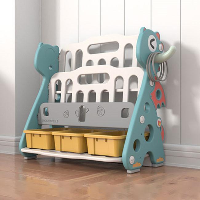 送料無料 新作セール 絵本棚 絵本ラック 子供 本棚 収納ラック おもちゃ 収納 プレゼント おもちゃ箱 組立簡単 かわいい 大人気 ハロウィンプレゼント|resty|04