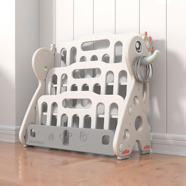 送料無料 新作セール 絵本棚 絵本ラック 子供 本棚 収納ラック おもちゃ 収納 プレゼント おもちゃ箱 組立簡単 かわいい 大人気 ハロウィンプレゼント|resty|05
