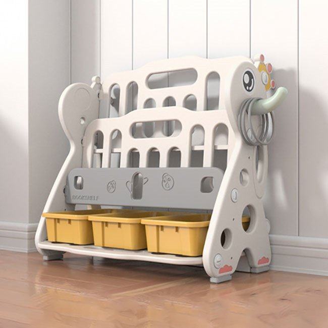 送料無料 新作セール 絵本棚 絵本ラック 子供 本棚 収納ラック おもちゃ 収納 プレゼント おもちゃ箱 組立簡単 かわいい 大人気 ハロウィンプレゼント|resty|06
