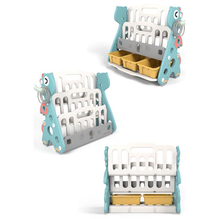 送料無料 新作セール 絵本棚 絵本ラック 子供 本棚 収納ラック おもちゃ 収納 プレゼント おもちゃ箱 組立簡単 かわいい 大人気 ハロウィンプレゼント|resty|08