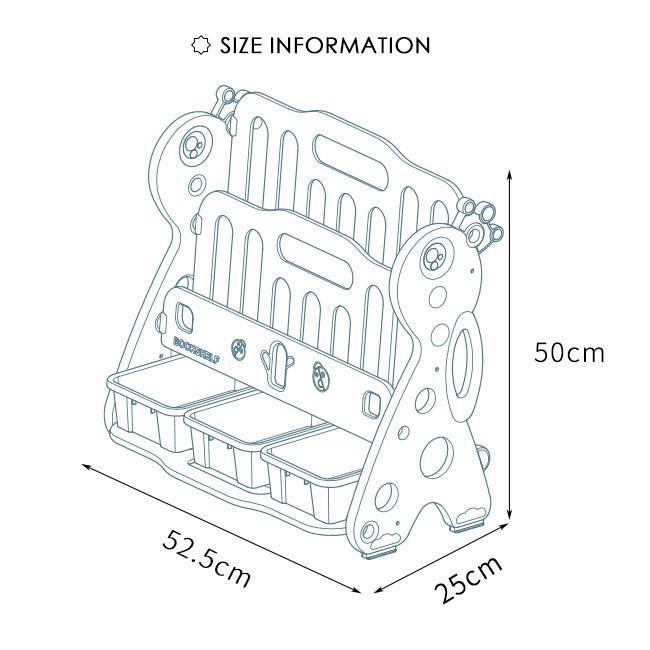 送料無料 新作セール 絵本棚 絵本ラック 子供 本棚 収納ラック おもちゃ 収納 プレゼント おもちゃ箱 組立簡単 かわいい 大人気 ハロウィンプレゼント|resty|10