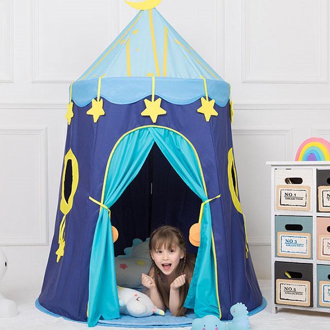 送料無料 子供テント キッズテント プレイハウス 室内 睡眠テント 折り畳み式 持ち運び 秘密基地 遊具 誕生日 入園祝い 入学祝い ハロウィンプレゼント|resty|05
