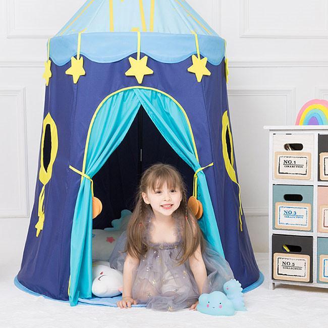 送料無料 子供テント キッズテント プレイハウス 室内 睡眠テント 折り畳み式 持ち運び 秘密基地 遊具 誕生日 入園祝い 入学祝い ハロウィンプレゼント|resty|06