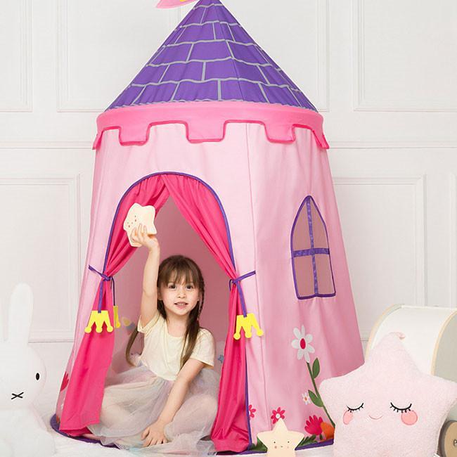 送料無料 子供テント キッズテント プレイハウス 室内 睡眠テント 折り畳み式 持ち運び 秘密基地 遊具 誕生日 入園祝い 入学祝い ハロウィンプレゼント|resty|07