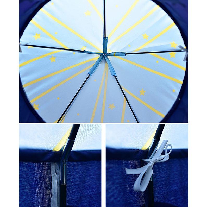 送料無料 子供テント キッズテント プレイハウス 室内 睡眠テント 折り畳み式 持ち運び 秘密基地 遊具 誕生日 入園祝い 入学祝い ハロウィンプレゼント|resty|10