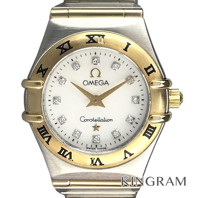 独創的 オメガ コンステレーション 1262.75 ミニ 12Pダイヤ クォーツ レディース 腕時計 ec【】, 京のこだわりカステラハウス一番館 3ea37348