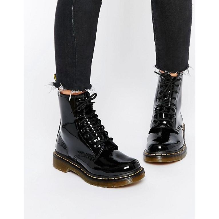 正規激安 ドクターマーチン レディース ブーツ 1460・レインブーツ patent Martens シューズ Dr Martens modern classics 1460 patent 8-eye boots, モータースポーツインポート:73bf727a --- levelprosales.com