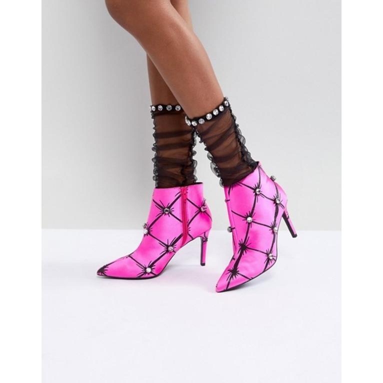 エイソス レディース ブーツ・レインブーツ シューズ ASOS X MARY BENSON Ankle Boots