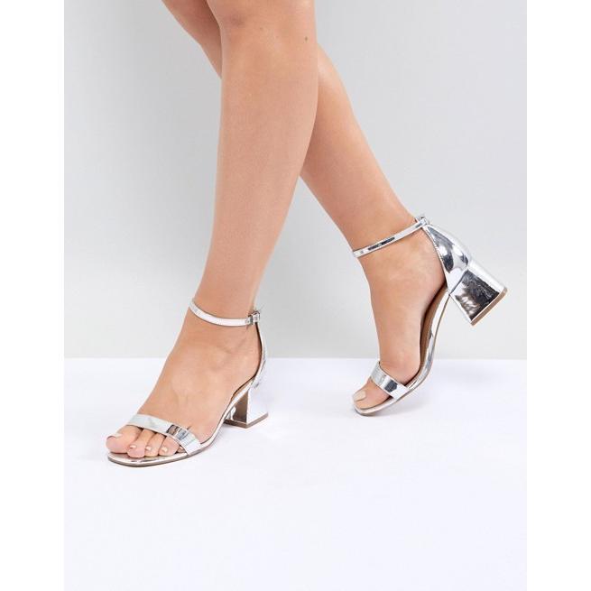 エイソス レディース サンダル シューズ ASOS DESIGN Honeydew Wide Fit Heeled Sandals