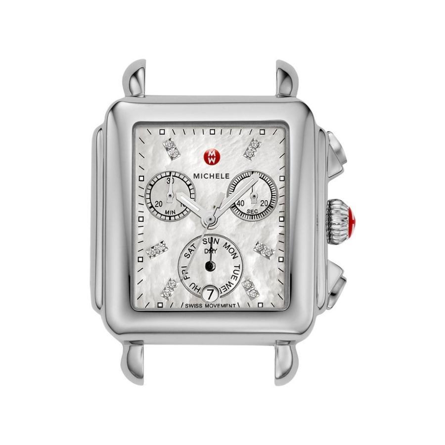 55%以上節約 ミッシェル レディース 35mm 腕時計 アクセサリー 33mm MICHELE Deco Diamond Dial Watch レディース Case, 33mm x 35mm, サイプラスonline shop:78848585 --- airmodconsu.dominiotemporario.com