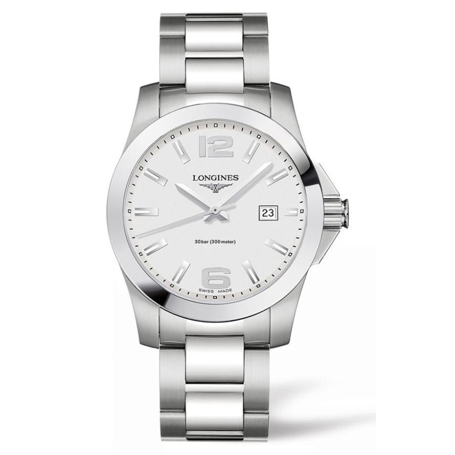 上品な ロンジン レディース 腕時計 アクセサリー Longines Conquest Bracelet Watch, 41mm, VIVACIA 0880f104