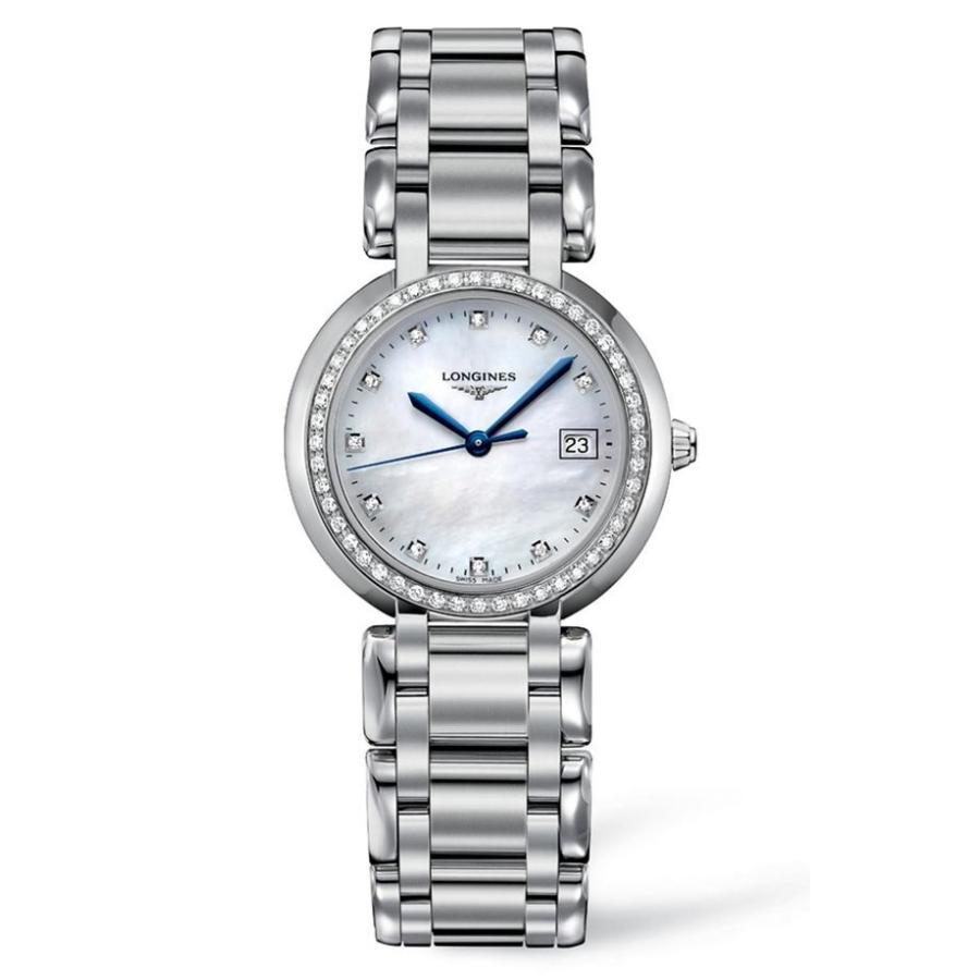 【ファッション通販】 ロンジン レディース 腕時計 アクセサリー Longines PrimaLuna Diamond Bracelet Watch, 30mm, イイパワーズ 34f21ab9