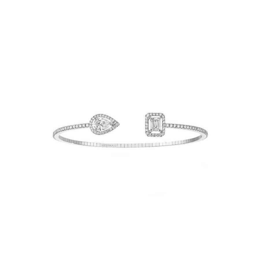 ★お求めやすく価格改定★ メシカ レディース ブレスレット・バングル・アンクレット アクセサリー Messika My Twin Open Diamond Cuff Bracelet, Mafmof(マフモフ) 1f618edd