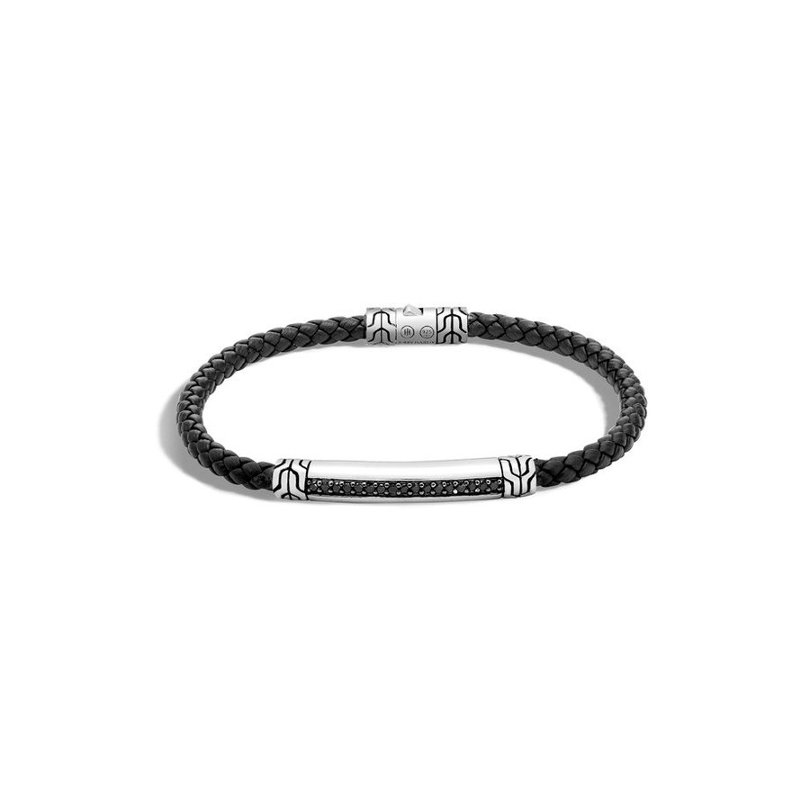 【送料0円】 ジョン・ハーディー メンズ ブレスレット・バングル・アンクレット アクセサリー John Hardy Classic Chain Leather Cord Bracelet, ジュエリーリフォーム夢工芸 0a277de9