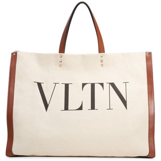 2019年新作 ヴァレンティノ レディース トートバッグ ヴァレンティノ バッグ VALENTINO GARAVANI GARAVANI Grande レディース Plage VLTN Logo Tote, WEST WAVE:7f81317e --- sonpurmela.online