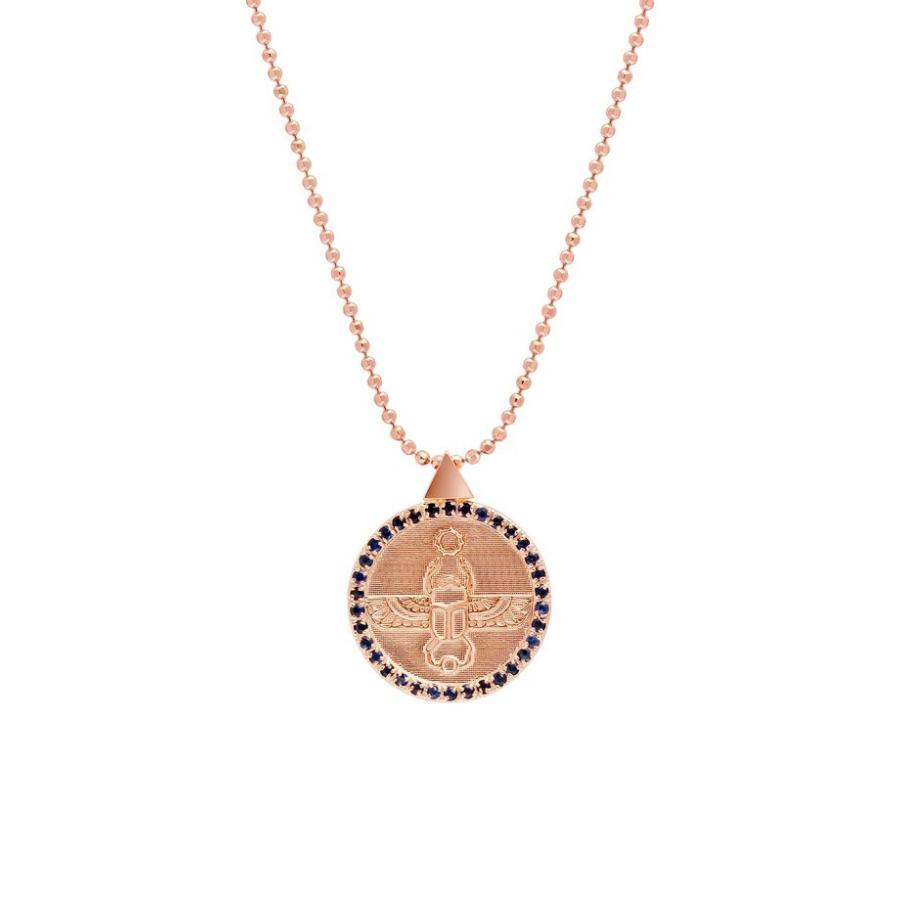 輝く高品質な コングス レディース Congs ネックレス・チョーカー アクセサリー Transformation Congs Scarab Scarab Transformation Coin Pendant Necklace, OUTLET GRAMO:c1036746 --- airmodconsu.dominiotemporario.com