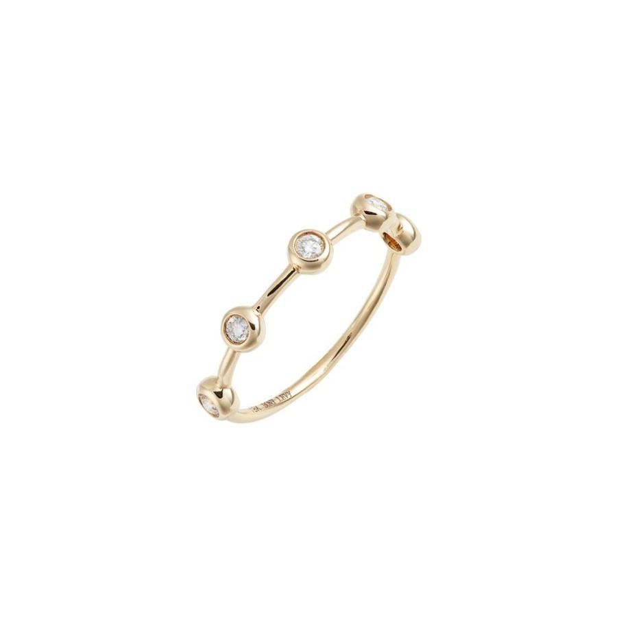 【アウトレット☆送料無料】 ボニー レヴィ レディース リング アクセサリー Bony Levy Monaco Bezel Diamond Ring (Nordstrom Exclusive), ダーマカラーのブルーヘブン 425aa7ab