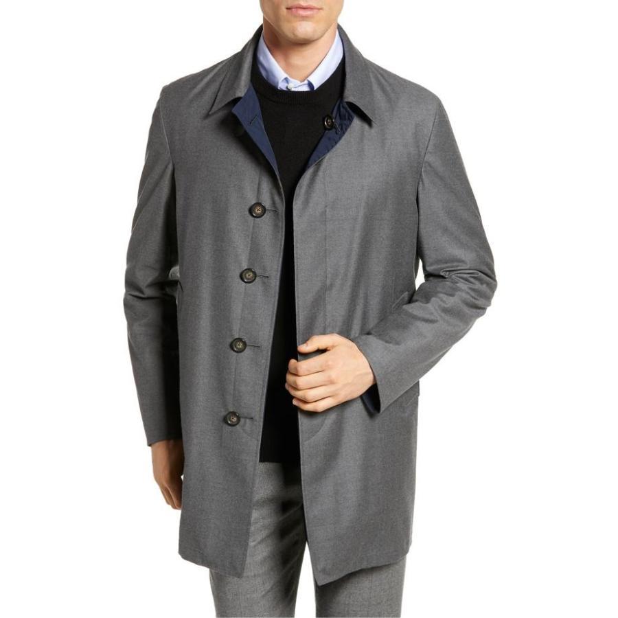 日本限定 ヒッキーフリーマン メンズ ジャケット Wool・ブルゾン アウター Hickey Freeman Classic Overcoat Fit Freeman Reversible Wool & Silk Overcoat, 逆輸入:2ee31ee5 --- sonpurmela.online