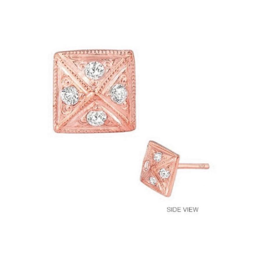 最上の品質な ミニミニジュエルズ レディース ピアス Earring・イヤリング レディース アクセサリー Mini Mini Mini Jewels Diamond Icon Pyramid Earring, シャインステーションNO2:b8b99906 --- airmodconsu.dominiotemporario.com