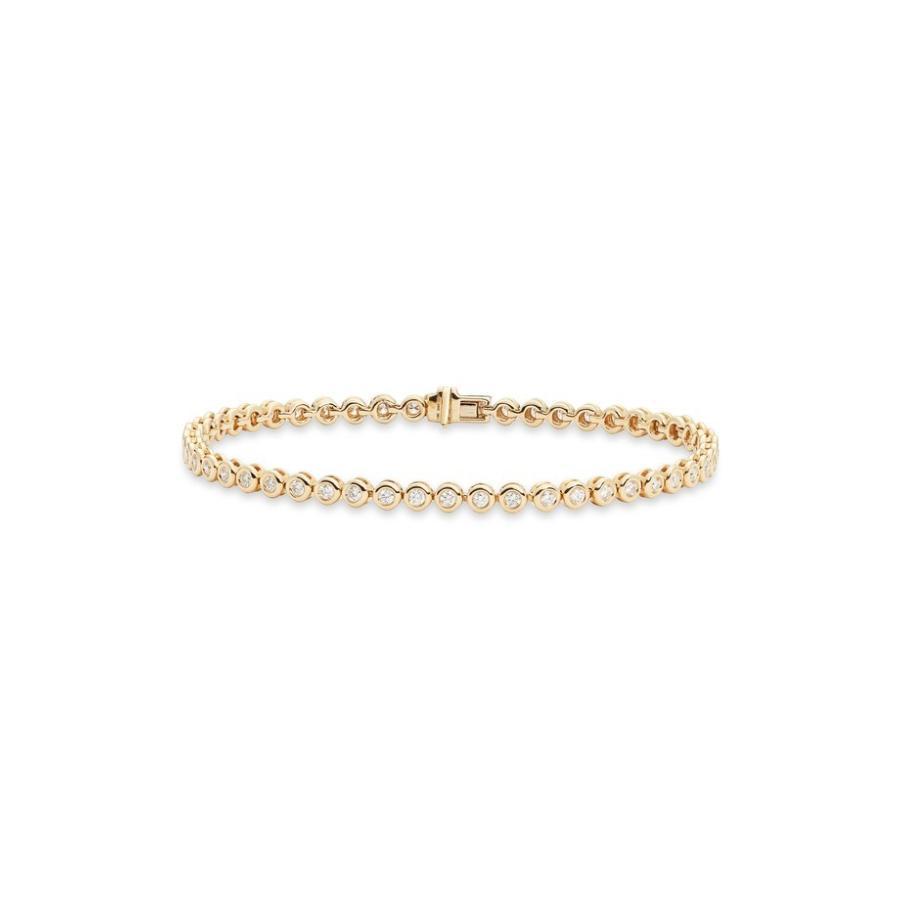 大人の上質  ボニー レヴィ レディース ブレスレット・バングル・アンクレット アクセサリー Bony Levy Monaco Bezel Diamond Bracelet (Nordstrom Exclusive), 海上郡 604cef54