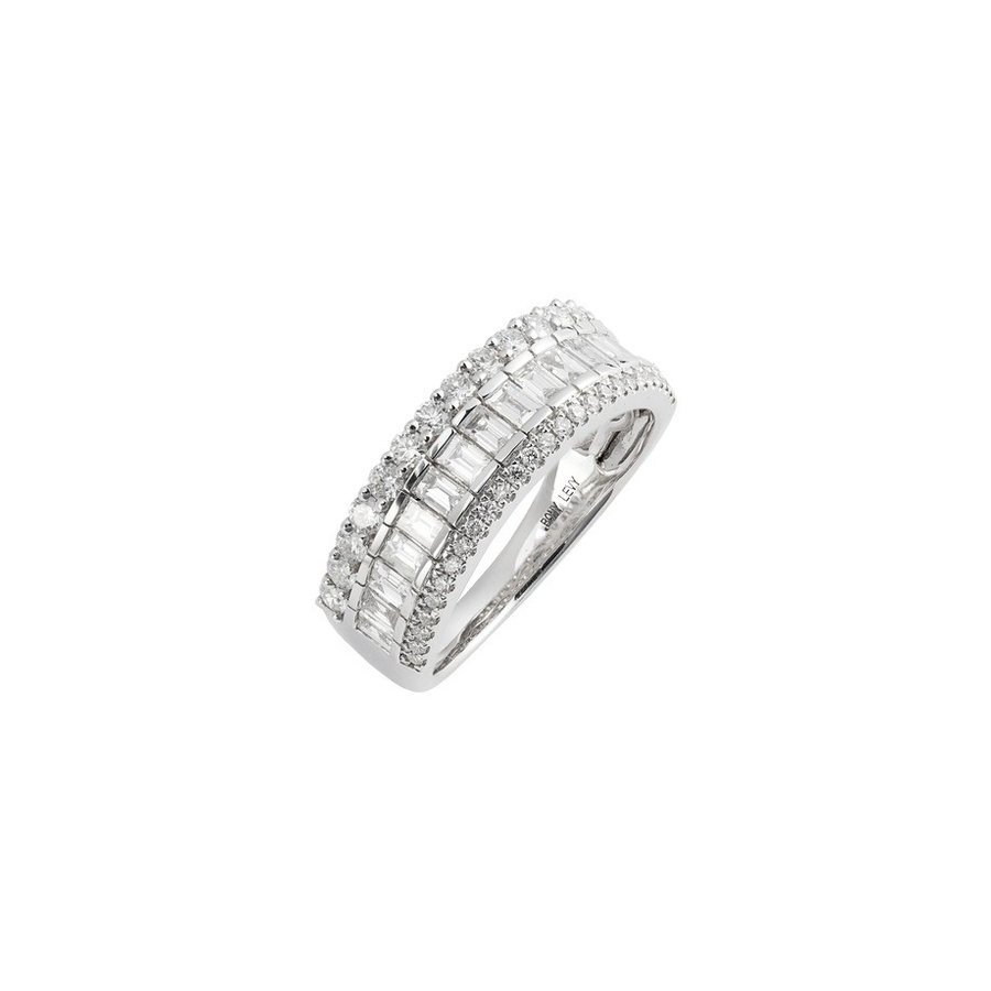 100%の保証 ボニー レヴィ Ring レディース 指輪 指輪 (Nordstrom アクセサリー Bony Levy Gatsby Mixed Diamond Wide Band Ring (Nordstrom Exclusive), イワミザワシ:1798950b --- airmodconsu.dominiotemporario.com