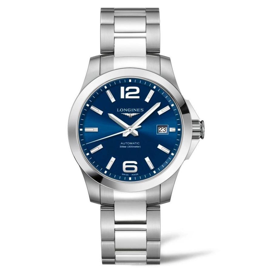 『5年保証』 ロンジン Automatic レディース 腕時計 アクセサリー Longines 腕時計 Conquest ロンジン Automatic Bracelet Watch, 39mm, 刃物市場:1378e024 --- airmodconsu.dominiotemporario.com