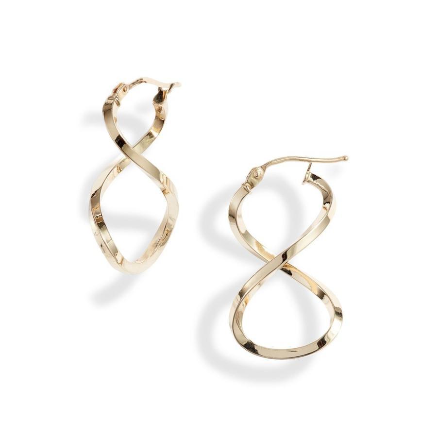 買取り実績  ボニー Earrings レヴィ レディース ピアス アクセサリー・イヤリング Open アクセサリー Bony Levy Open Twist Hoop Earrings (Nordstrom Exclusive), 不老庵:e0140243 --- airmodconsu.dominiotemporario.com
