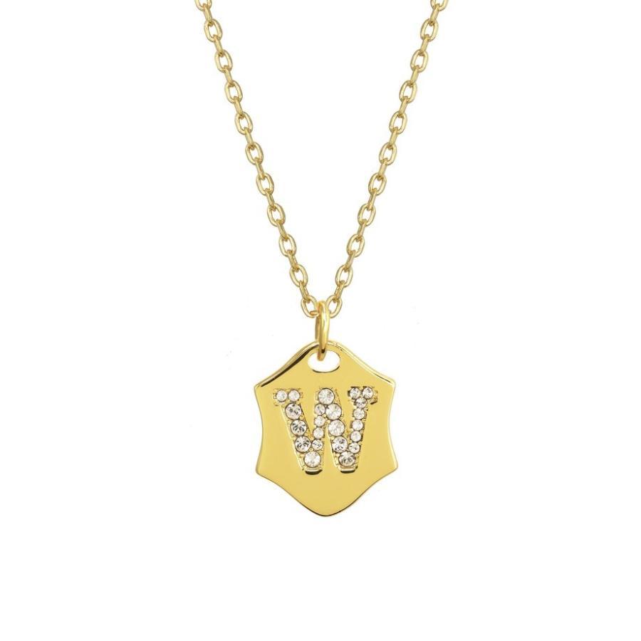 当店だけの限定モデル ステラ+ルビー レディース ネックレス・チョーカー アクセサリー Stella + Ruby Nom de Plume Initial Pendant Necklace, 驚きの値段で 92ab7b63