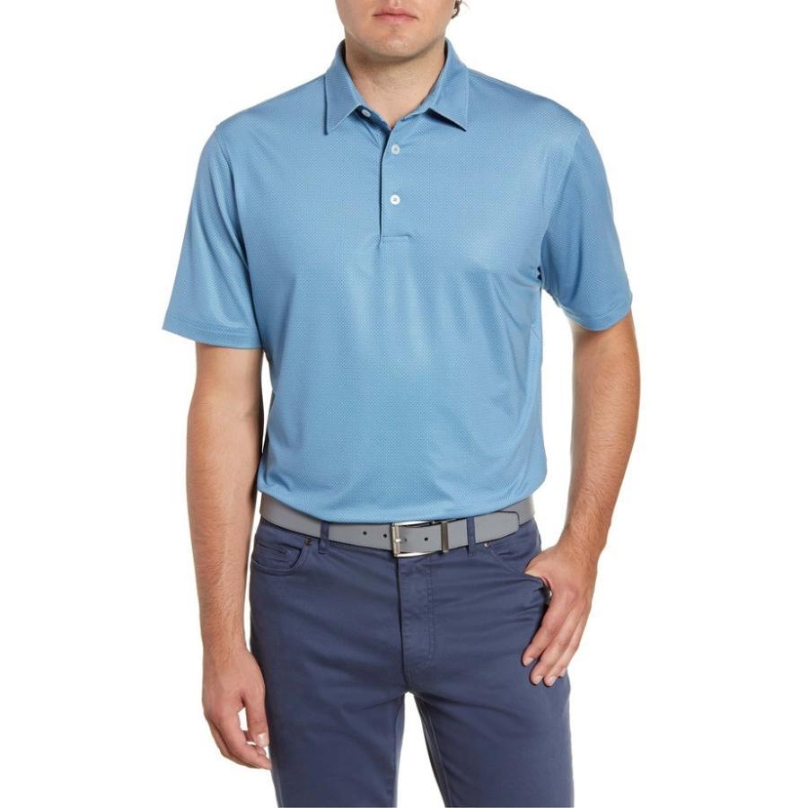 【残りわずか】 ジョニー ポロシャツ オー メンズ ポロシャツ Fit トップス johnnie-O Augie Classic Polo Fit Print Performance Polo, 前原市:d2ac649e --- chizeng.com