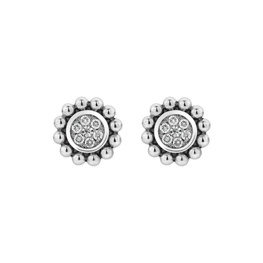【高額売筋】 ラゴス LAGOS レディース Spark ピアス・イヤリング アクセサリー LAGOS Caviar Spark Diamond Diamond Pav? Stud Earrings, コートプライム ブリタリーモード:4e3be7d8 --- airmodconsu.dominiotemporario.com