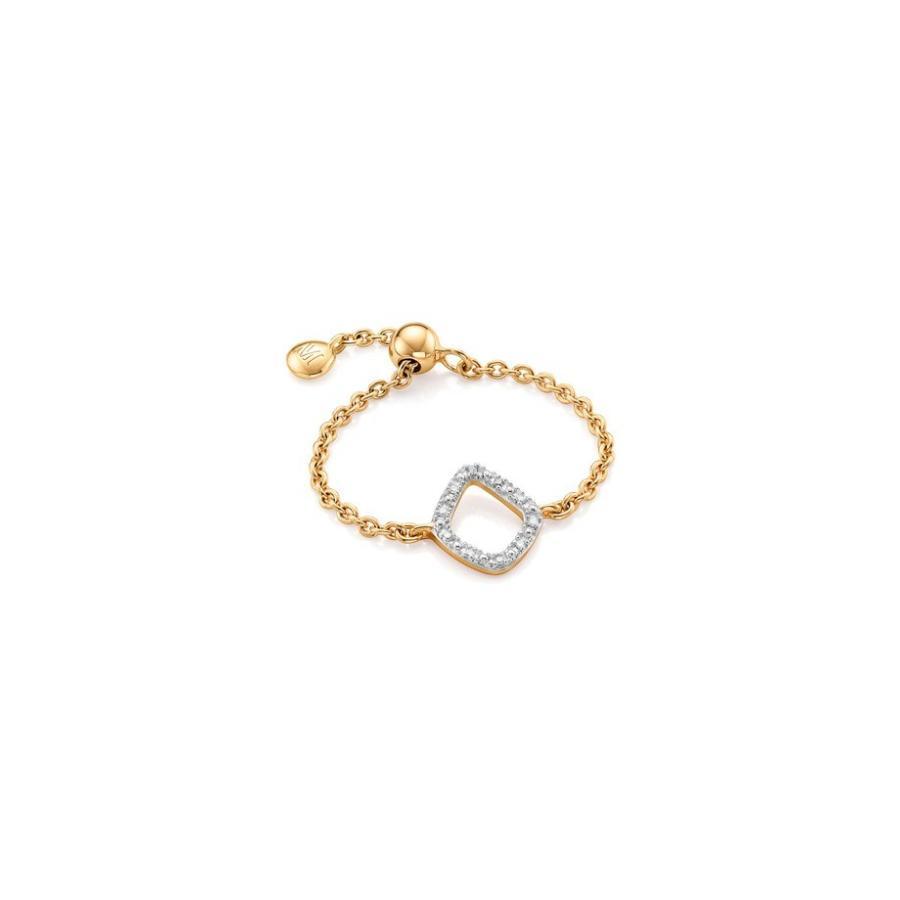 激安の モニカヴィナダー レディース 指輪 アクセサリー レディース Monica Vinader 指輪 Riva Riva Mini Kite Diamond Friendship Ring, ヒタチオオタシ:11324fe8 --- airmodconsu.dominiotemporario.com