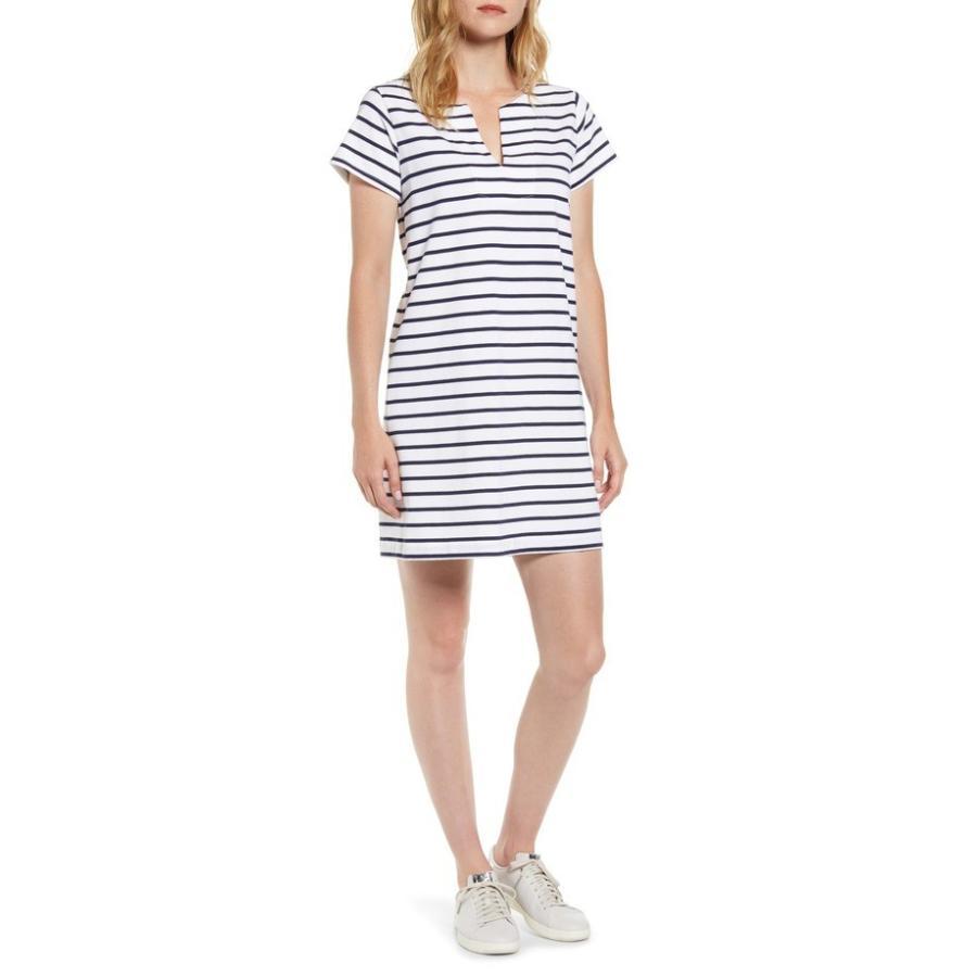 ヴァインヤードヴァインズ レディース ワンピース トップス vineyard vines Stripe Knit Tunic Dress