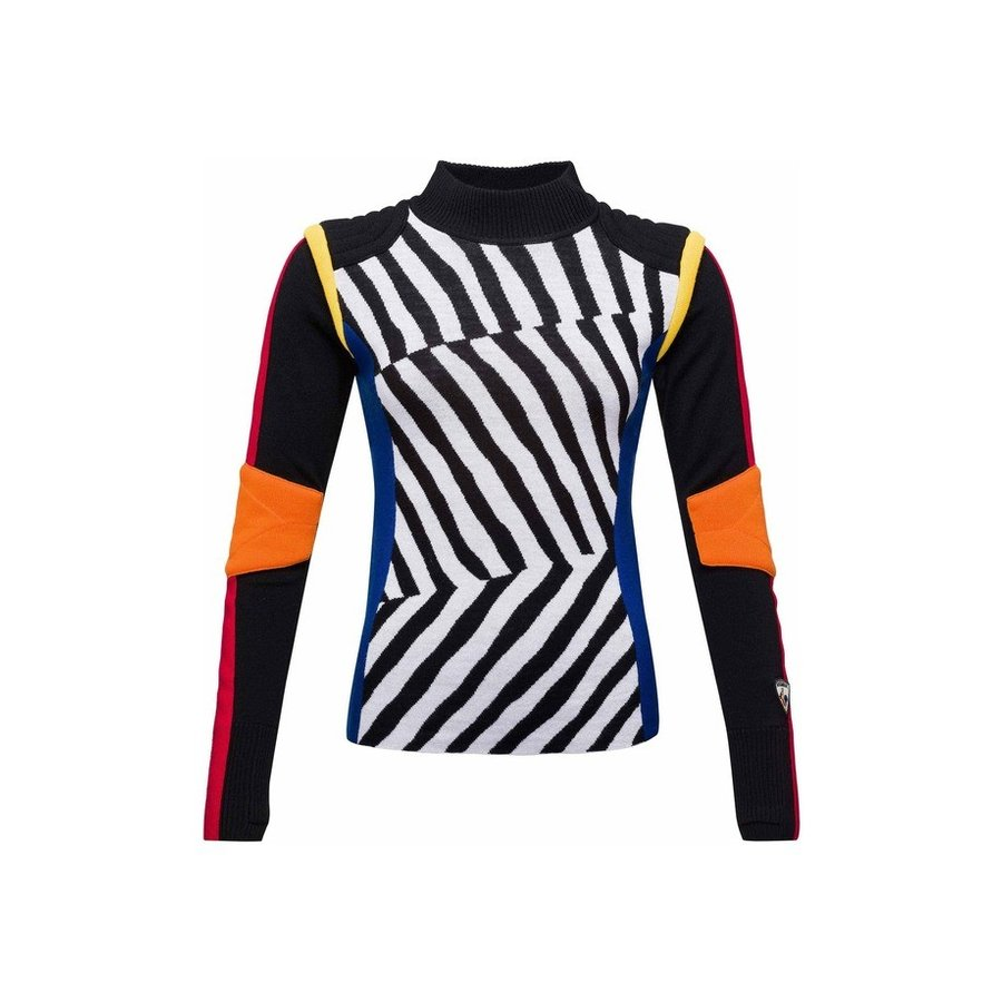 ロシニョール レディース ニット・セーター アウター Rossignol Bumpi Merino Wool Mock Neck Pullover Sweater