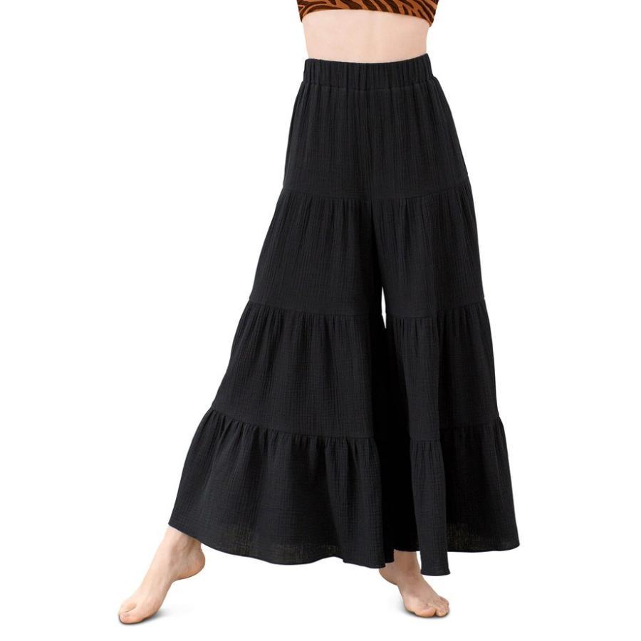 堅実な究極の マラ ホフマン レディース カジュアルパンツ ボトムス Mara Hoffman Shelesea Wide Leg Cover-Up Pants, めん工房 辻麺業 86fd7521