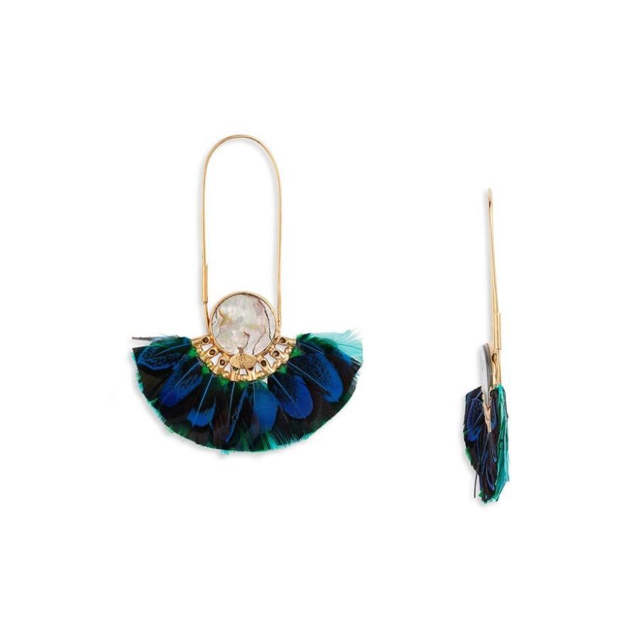 新しい カスビジョー Earrings レディース ピアス・イヤリング Feather アクセサリー Gas Gas Bijoux Acapulco Feather Earrings, 邇摩郡:66d503b9 --- airmodconsu.dominiotemporario.com
