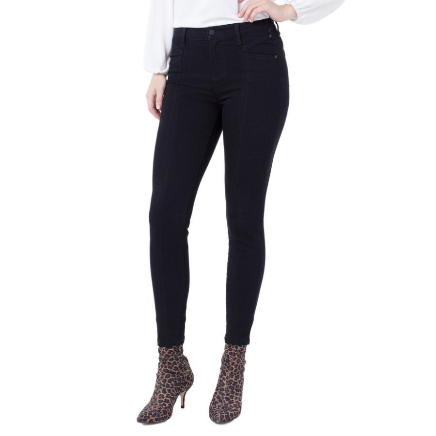 リバプール レディース デニムパンツ ボトムス Liverpool Abby Seamed Ankle Skinny Jeans