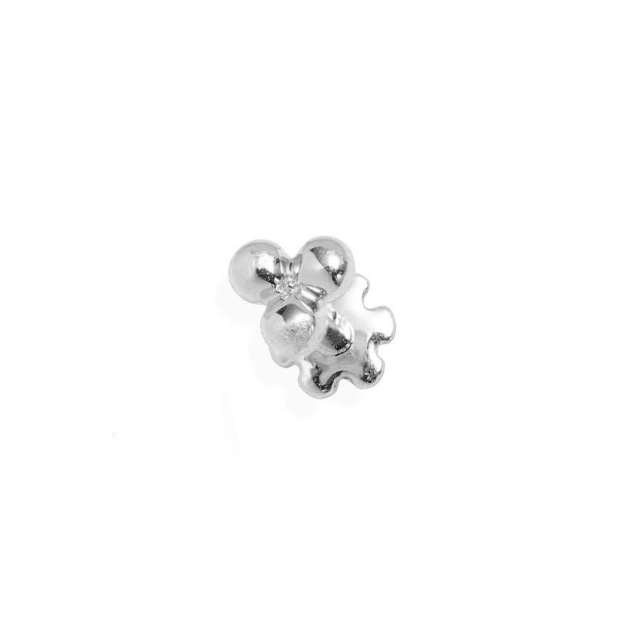 【 新品 】 マリア・タッシュ レディース ピアス・イヤリング アクセサリー Maria Tash Large Trinity Ball Threaded Stud Earring, 泉南市 f16786dd
