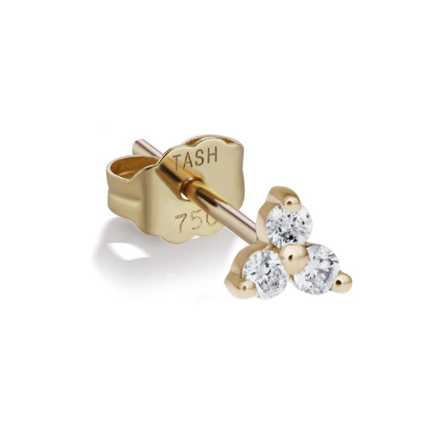 新版 マリア・タッシュ レディース ピアス レディース・イヤリング アクセサリー Stud アクセサリー Maria Tash Large Diamond Trinity Stud Earring, FREE MART Wear houseフリーマート:6ed630d6 --- airmodconsu.dominiotemporario.com